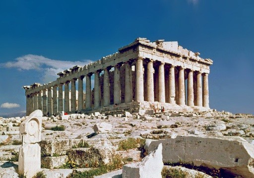 The Parthenon of Athens