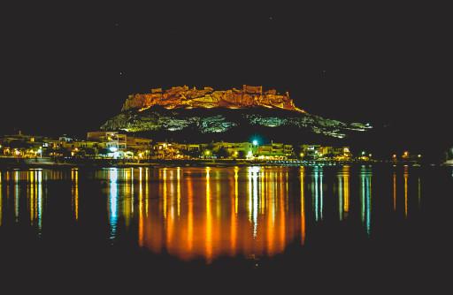 Charaki at night