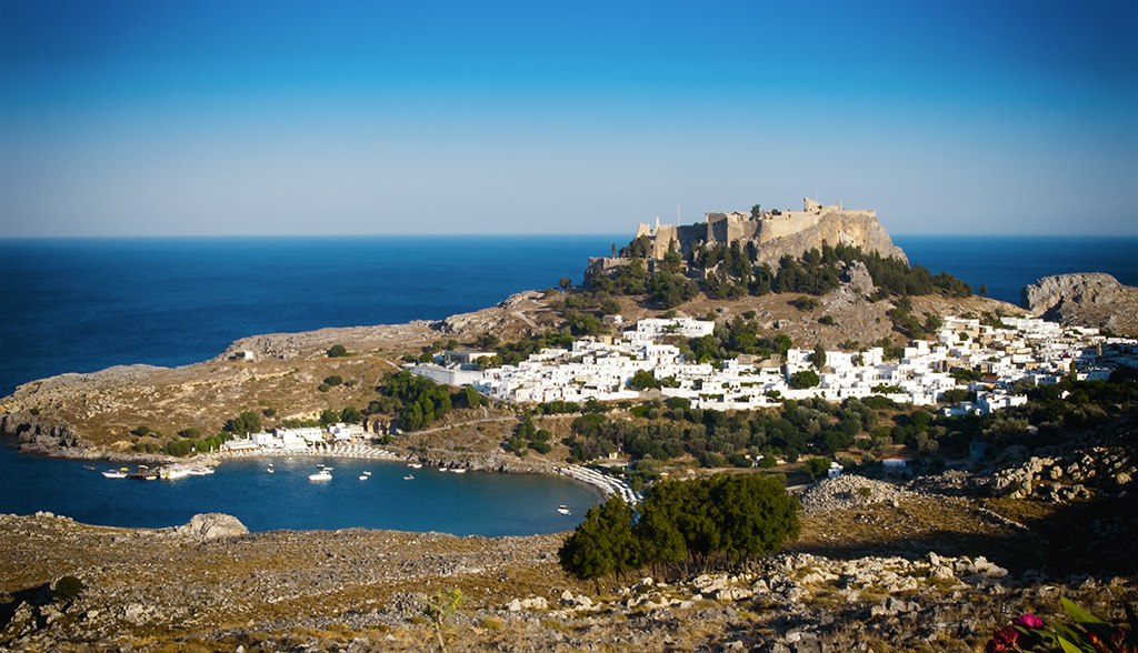 Rhodos View of Lindos