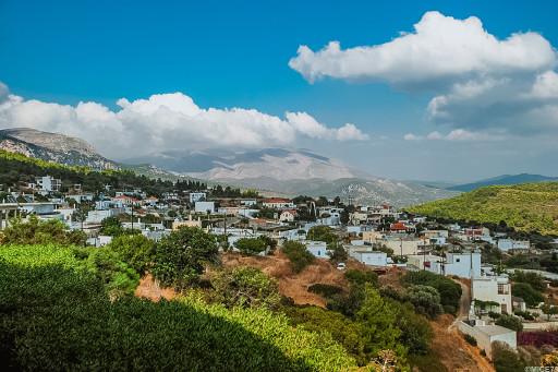 View of Monoliths village